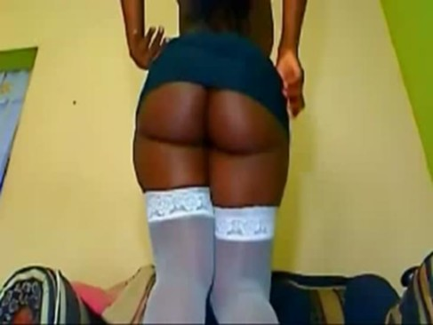 Black Booty Girl on WebCam